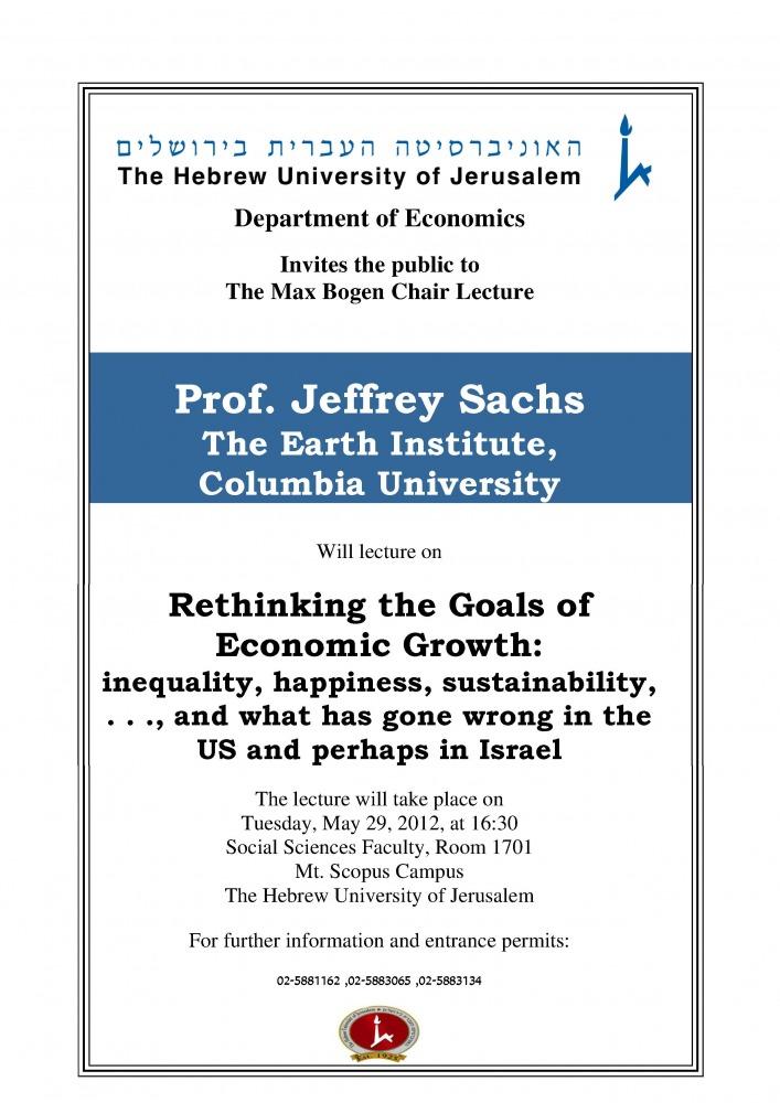 Bogen Lecture